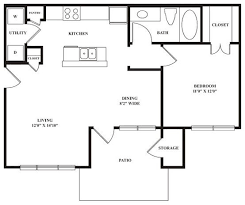 Floor Plan Of A 2 Bedroom House 723 Best Small House Plans Images On Pinterest Small House Plans
