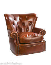 Leather Chesterfield Armchair Chesterfield Chair Ebay
