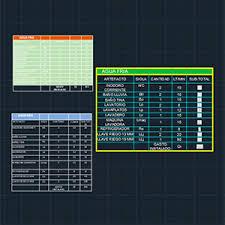 autocad tutorial with exle tutorial 12 tablas en autocad e integración con excel mvblogmvblog