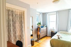 How To Hang A Closet Door How To Hang Curtains For Closet Doors Great Curtains For Closet