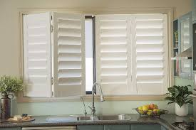 kitchen window blinds ideas picture 7 of 7 kitchen window shutters luxury plantation window