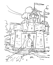 Bluebonkers Medieval Castles And Churches Coloring Sheets Coloring Pages Castles