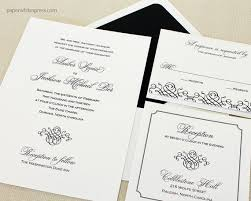 black tie wedding invitations black tie wedding invitations formal wedding invitations classic