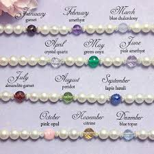 bracelets with birthstones a s birthstone bracelets with cultured pearls and