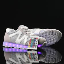 light up tennis shoes for rc017 remote control high top light up sneakers grey flashshoes com