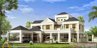 luxury colonial house plans colonial house plans kerala luxury colonial mix style house kerala