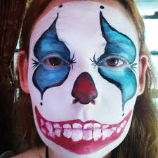 how to face paint a scary clown u2013 facepaint com