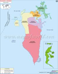 Map Of Islam Around The World by Bahrain Map Map Of Bahrain