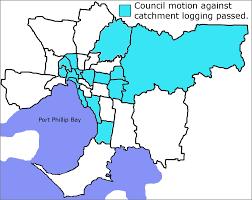 Councils Of Melbourne Map Melbourne Water Catchment
