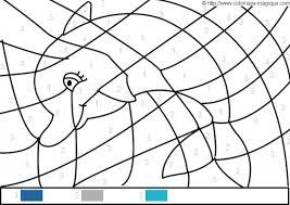 Coloriage Magique dauphin Facile dessin gratuit à imprimer