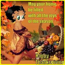 thanksgiving wishes betty boop thanksgiving blessings