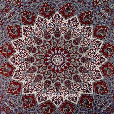 tapestry home decor maroon small indian dorm decor star hippie tapestry wall hanging