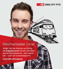 quereinsteiger jobs schweiz 20 minuten sbb suchen in deutschland personal news