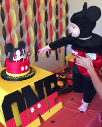 mickey mouse decorations mickey mouse birthday theme birthday party mickey mouse cake