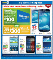 android phone black friday walmart black friday full ad leaked 100 gift card with select