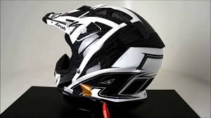 airoh motocross helmet airoh aviator helmet viper black 360 video youtube