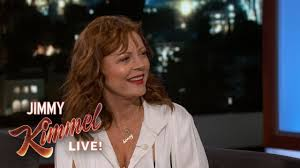 jimmy kimmel hair loss susan sarandon on kate winslet touching her breast youtube