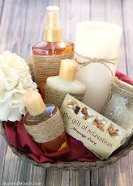 relaxation gift basket relaxing spa gift idea