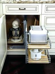 kitchen appliance storage ideas storage for kitchen appliances kitchen appliance storage cabinets