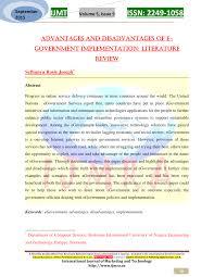 r lementation si e auto advantages and disadvantages of e pdf available