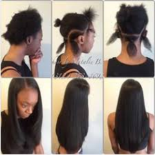 the best way to sew a hair weave before afterflawless sew in hair weaves by natalie b 312 273