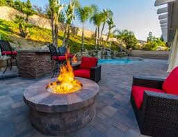 Pictures Of Patios With Fire Pits Fire Pit Pictures Gallery Landscaping Network