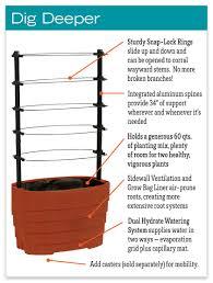 gardener u0027s revolution classic tomato planter gardeners com