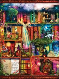 Armchair Treasure Hunt Books Treasure Hunt Bookshelf Jigsaw Puzzle Puzzlewarehouse Com