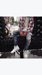id on this denim guy street wear and clothes