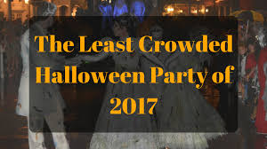 when is mickey halloween party find the least crowded halloween party in 2017 touringplans com