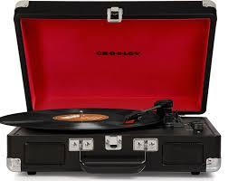 amazon black friday record amazon com crosley cr8005d bk cruiser deluxe portable 3 speed