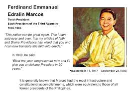 biography of ferdinand marcos of the philippines