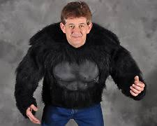 Gorilla Halloween Costume Mens Gorilla Costume Ebay