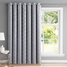 Patio Door Thermal Blackout Curtain Panel Best Home Fashion Wide Width Thermal Insulated Patio Door