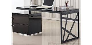 Modern Contemporary Office Desk Modern Black European Design Office Desk Kd01