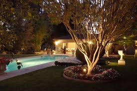 backyard pool house stock photos image 4576753