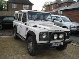 land rover 1998 land rover defender 110 county station wagon 300 tdi r reg 1998