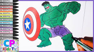 hulk with shield coloring pages for kids 16 hulk coloring pages