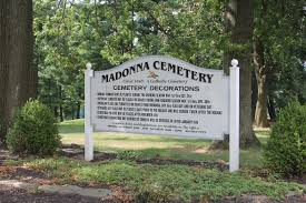 find a grave madonna cemetery