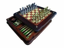 Contemporary Chess Set Contemporary Style Chess Backgammon Set U2013 Italfama Tuscany