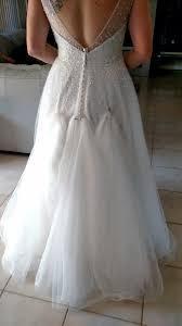 wedding dress bustle bustle on tulle dress show me yours weddingbee