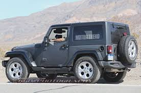 jeep wrangler white 4 door 2016 we hear next gen jeep wrangler to stay true to its roots