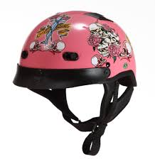 skull motocross helmet rodia rhd200v half helmet skull rose pink u2013 xpowerdepot