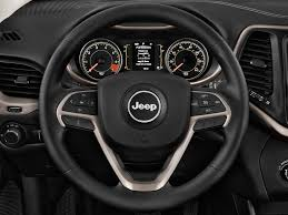 jeep steering wheel used one owner 2014 jeep cherokee latitude gainesville ga