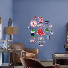 junior boston red sox wall decals