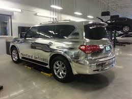 chrome wrapped cars chrome car wrap miami vinyl car wrap dallas car wrap