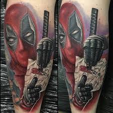 deadpool tattoos u2013 truetattoos