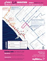 3m Center Map Go Metro To Cheer On L A Marathon Runners Use Tap Card To Save