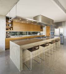 Laminate Wood Flooring In Kitchen Modern White Kitchen Design Stainless Steel Utensil Hanging Bar