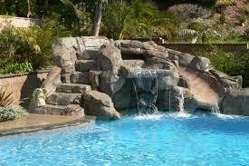 pools with waterfalls swan pools swimming pool company waterfalls tropical pool